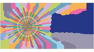 logo étoile multicolore