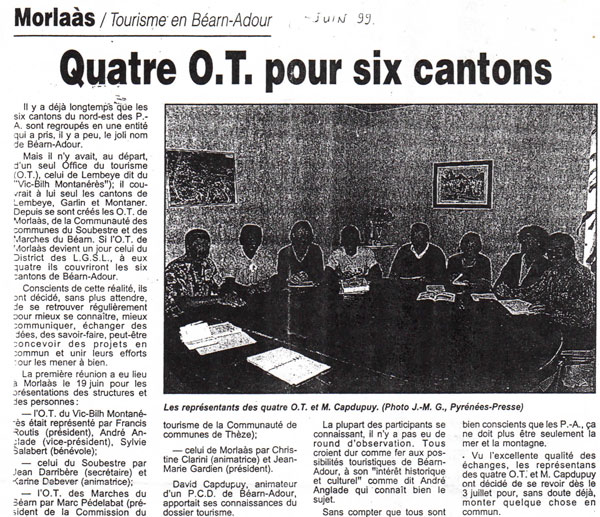 BATEL article de juin 1999